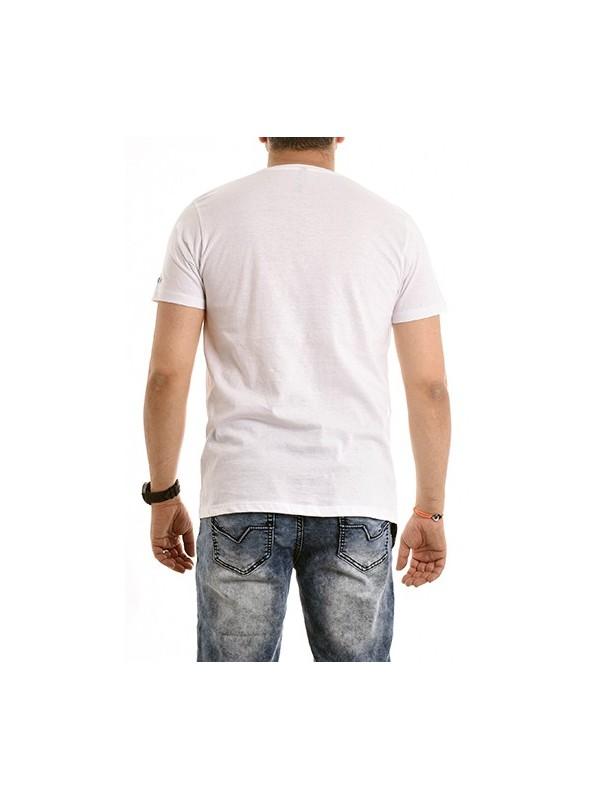 T-shirt col rond pur coton organique NABAS