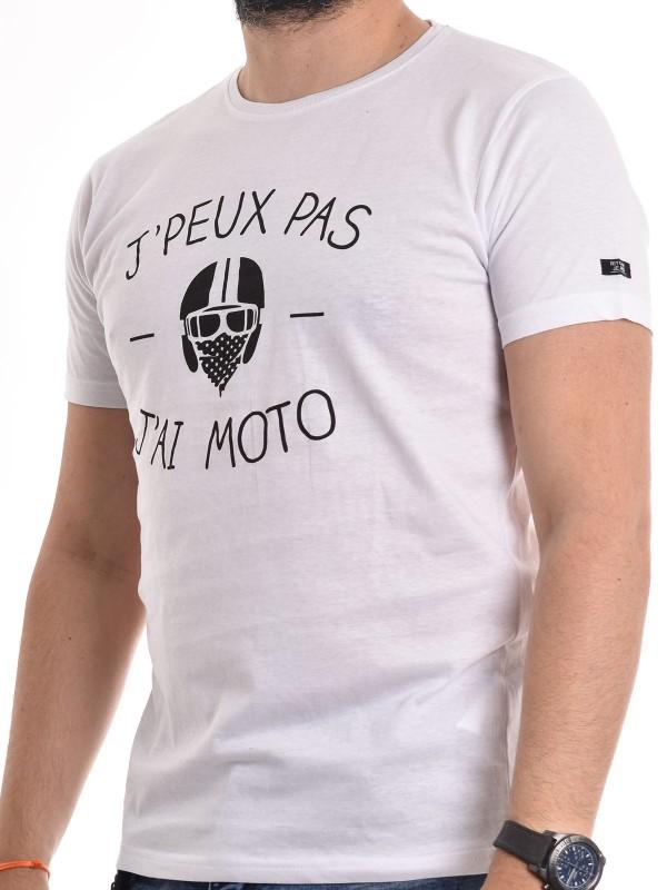 T-shirt col rond pur coton organique message NAOURS