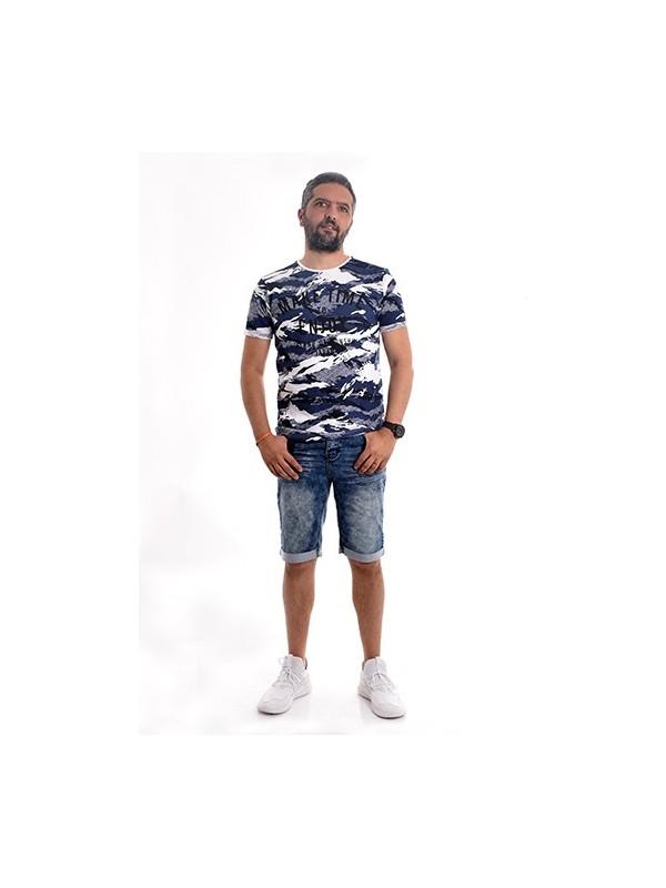 T-shirt col rond pur coton NARTOON