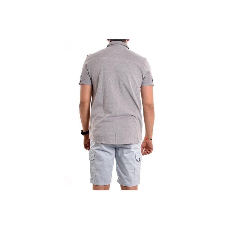 Chemise manches courtes pur coton DENIS