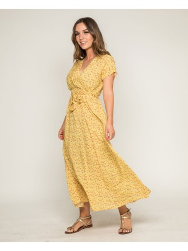 Robe longue imprimée IBERTY