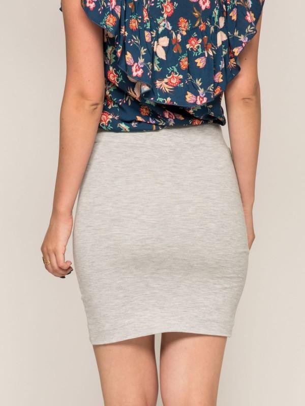 Mini jupe molleton XELYA