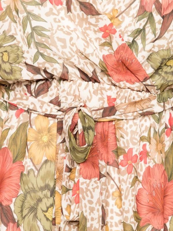 Robe courte imprimée ILOT