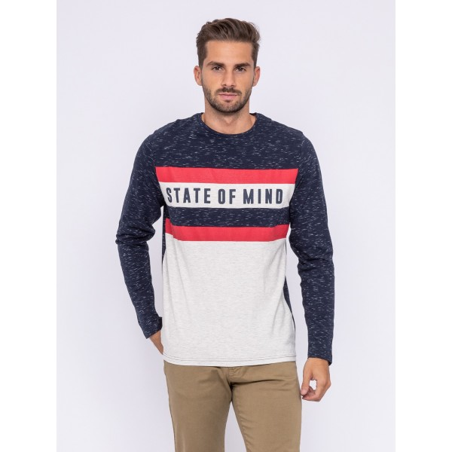 T-shirt manches longues col rond pur coton JOYS