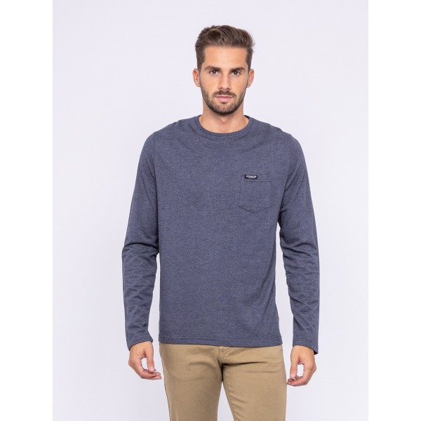 T-shirt manches longues col rond JEHEROT