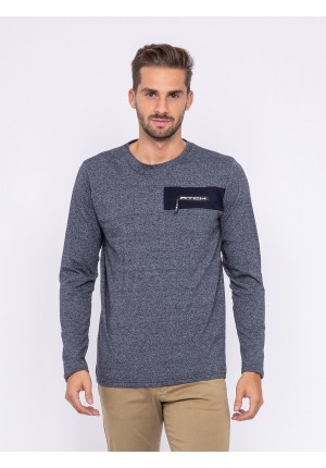T-shirt manches longues col rond JEDREY