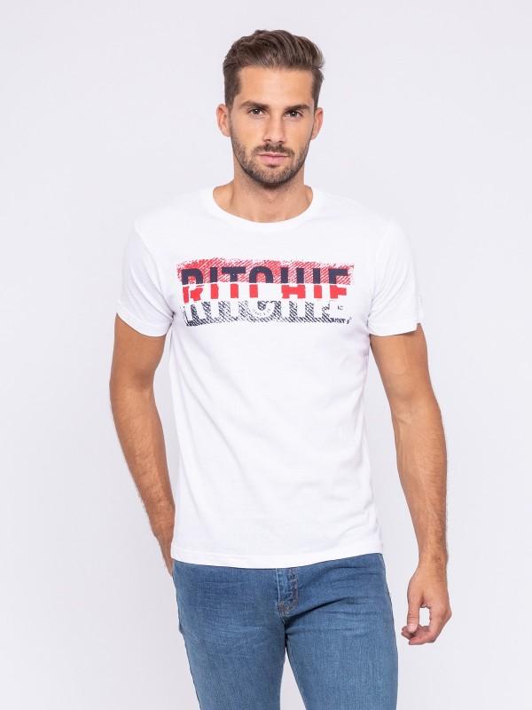 T-shirt col rond pur coton organique JOSH