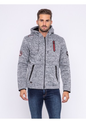 Sweat zippé capuche WAESTRO