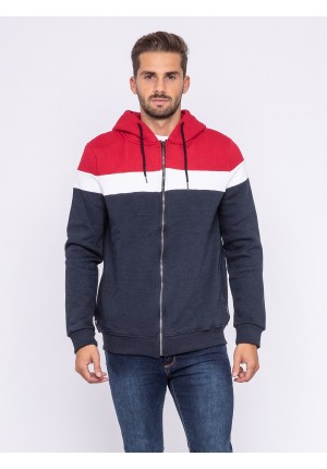 Sweat zippé capuche WUSTOK