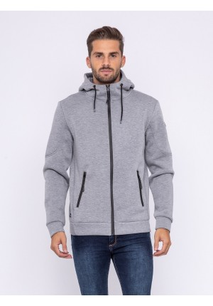 Sweat zippé capuche ZEPHIR
