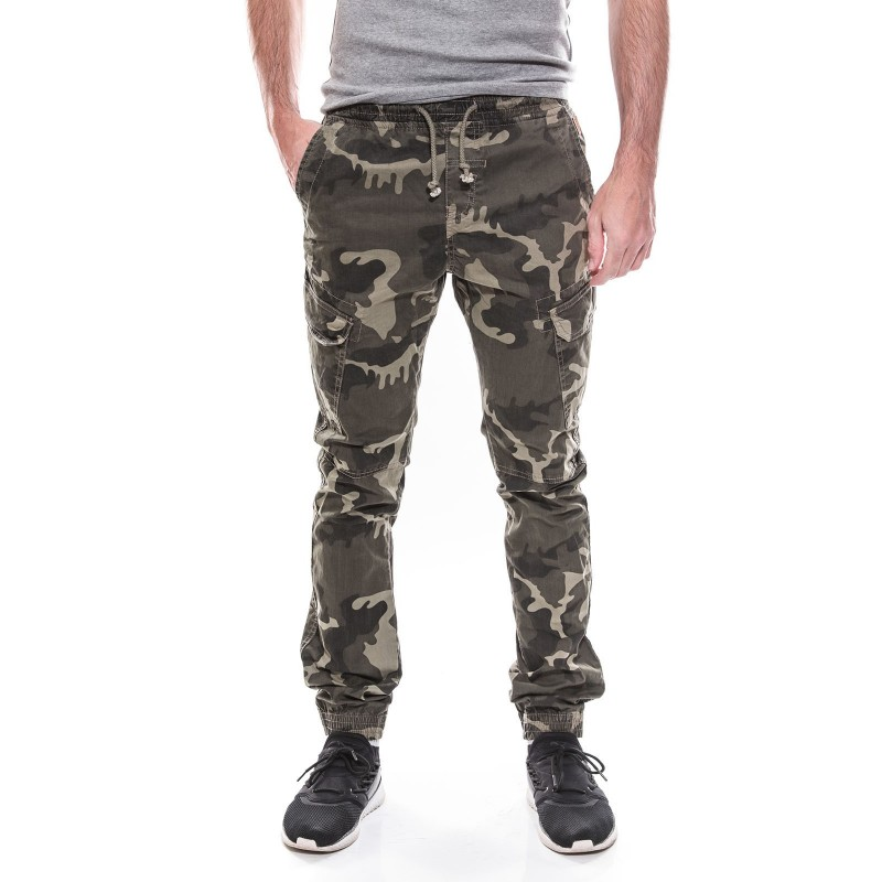 Pantalon battle slim camouflage KJ VERSO