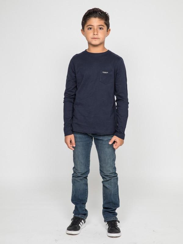 T-shirt manches longues col rond JELMONI-J