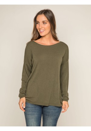 Pull fin col rond KENDAL