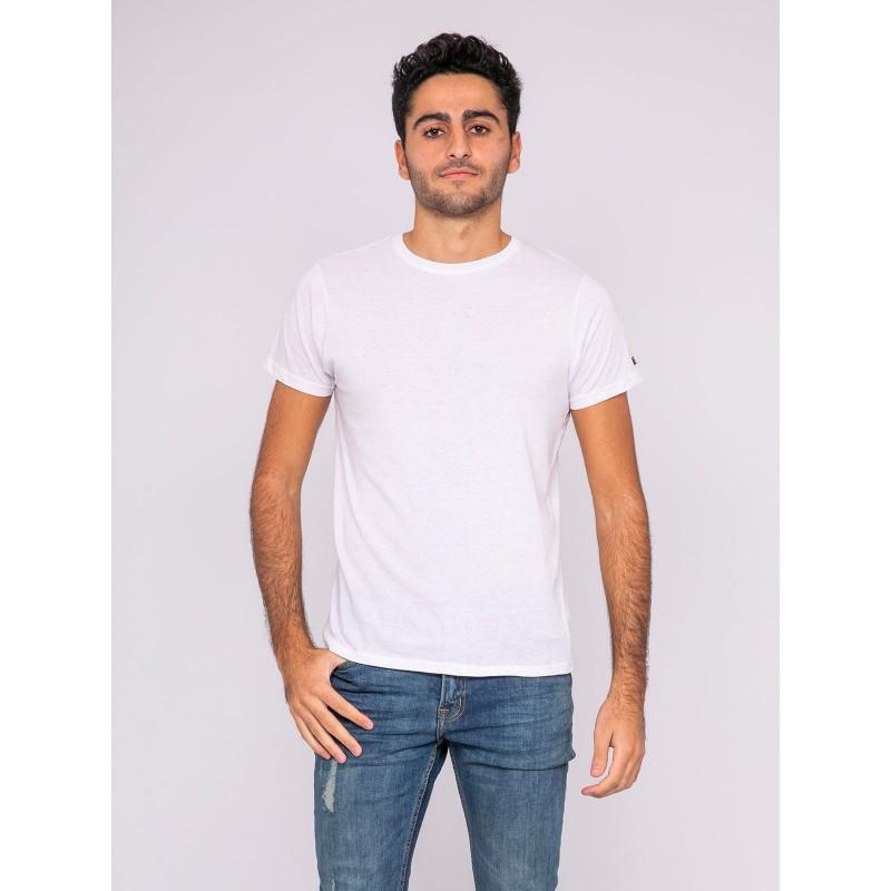 T-shirt col rond pur coton organique WAMASSOU