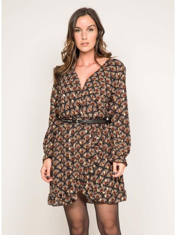 Robe courte motifs IRIA