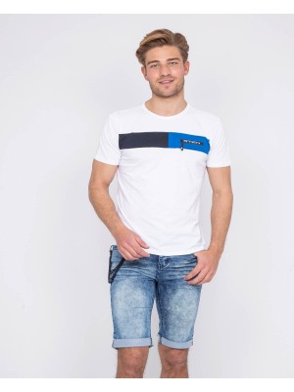 T-shirt col rond NAGAWIKA