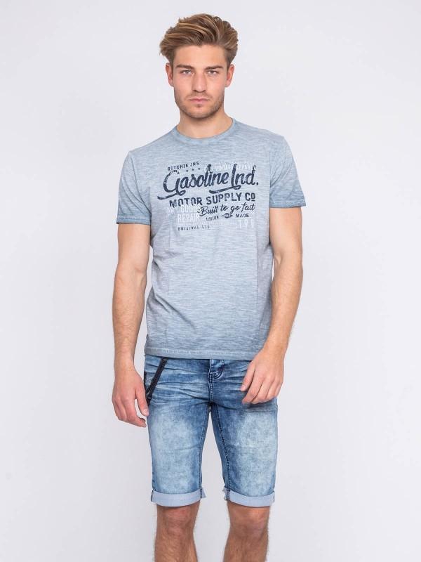 T-shirt col rond pur coton NALRIVE