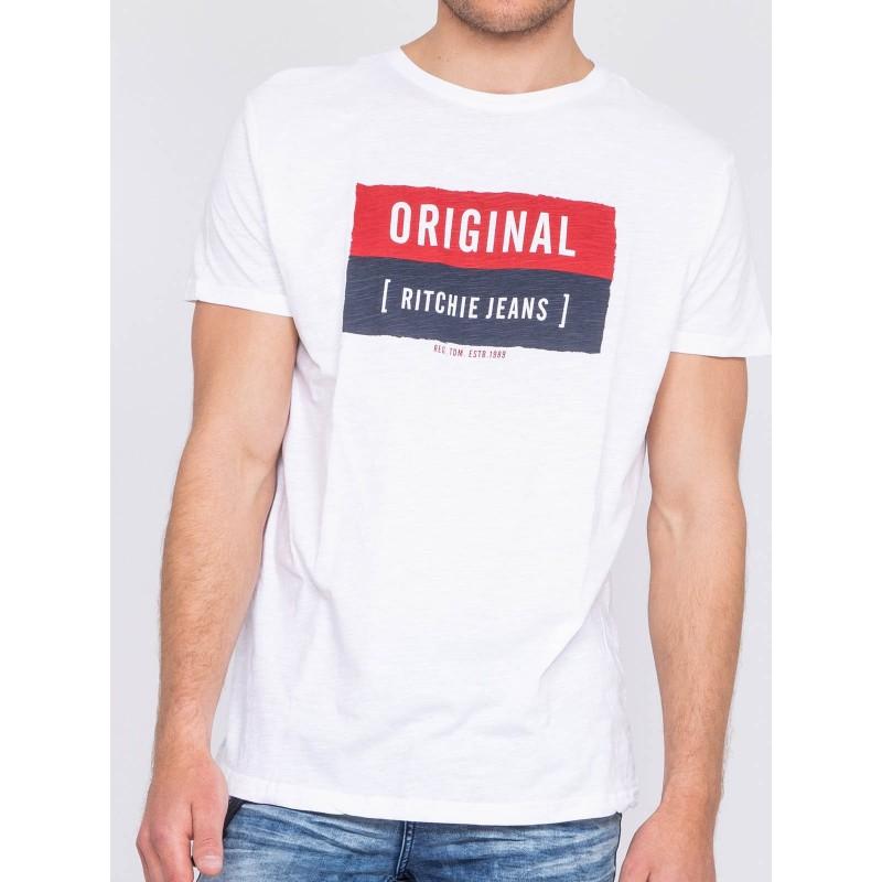 T-shirt col rond NEWMAN