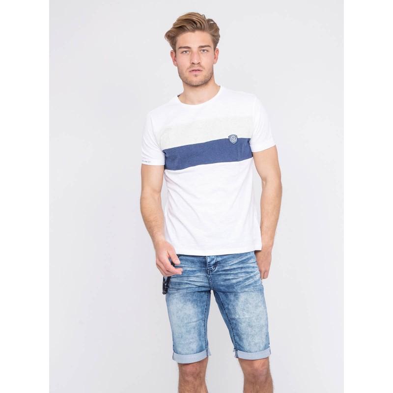T-shirt col rond pur coton NOUBATOL
