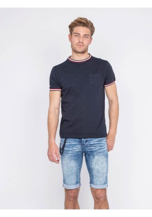 T-shirt col rond pur coton NOWAY