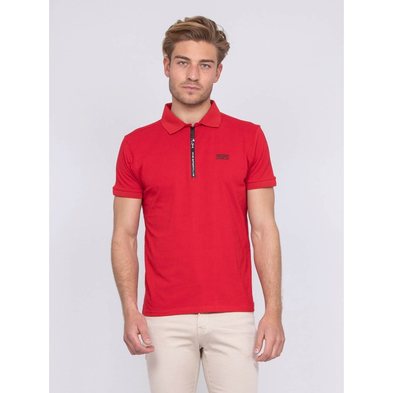 Polo stretch zip PAXTON