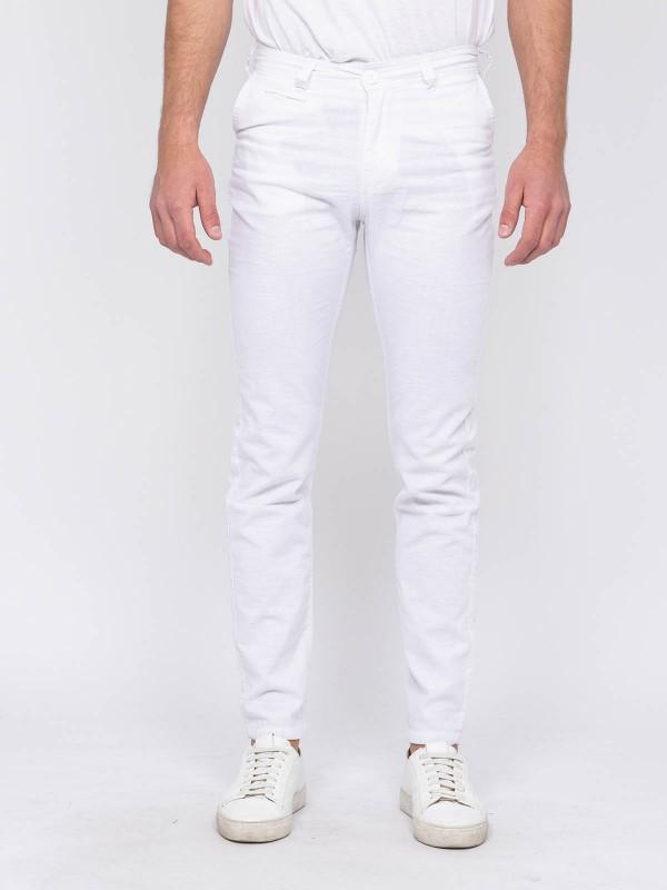 Pantalon chino lin CARLINAN