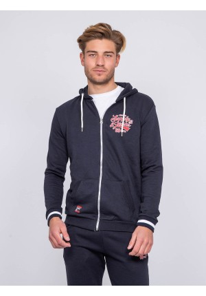 Sweat zippé capuche WALSH