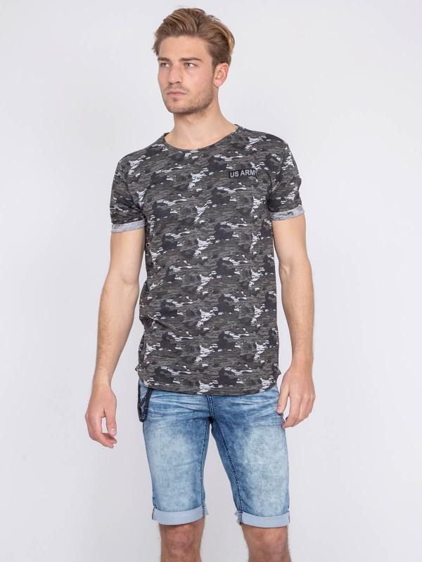 T-shirt coton militaire NIMON