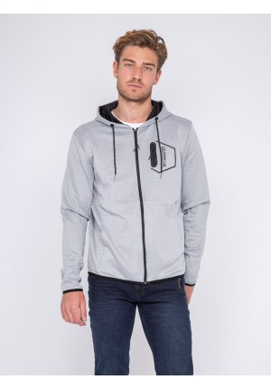 Sweat zippé capuche WOQUINA