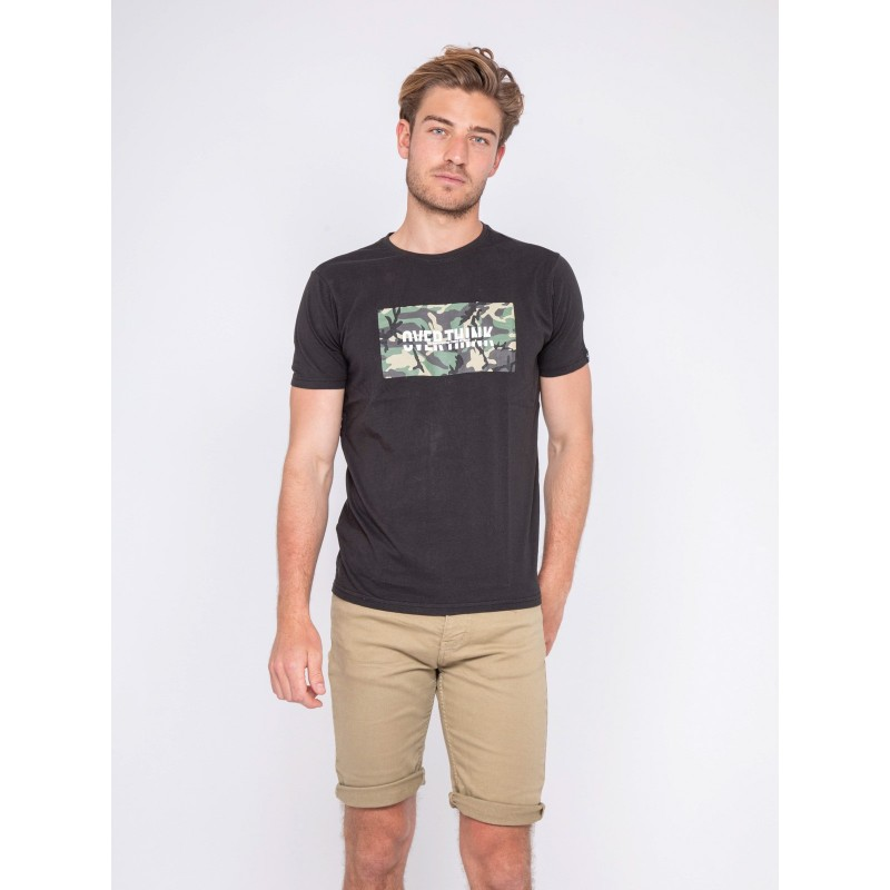 T-shirt col rond pur coton NAWAK