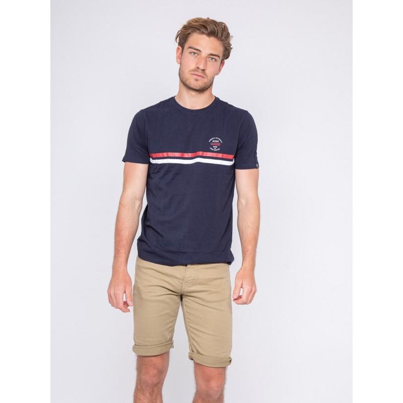 T-shirt col rond pur coton NIAGARA