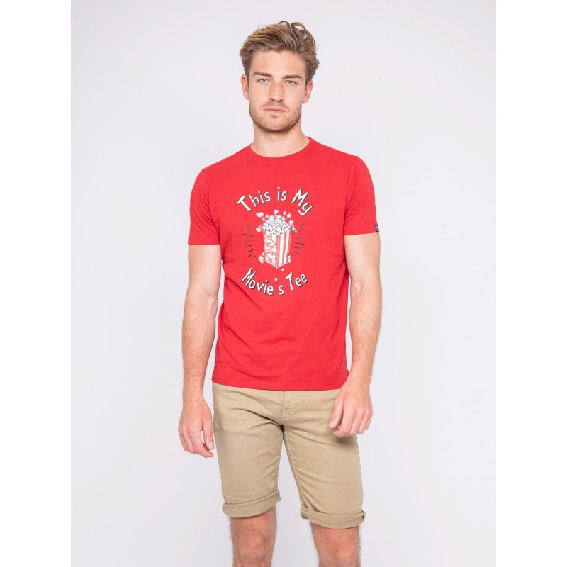 T-shirt col rond pur coton NORWIN