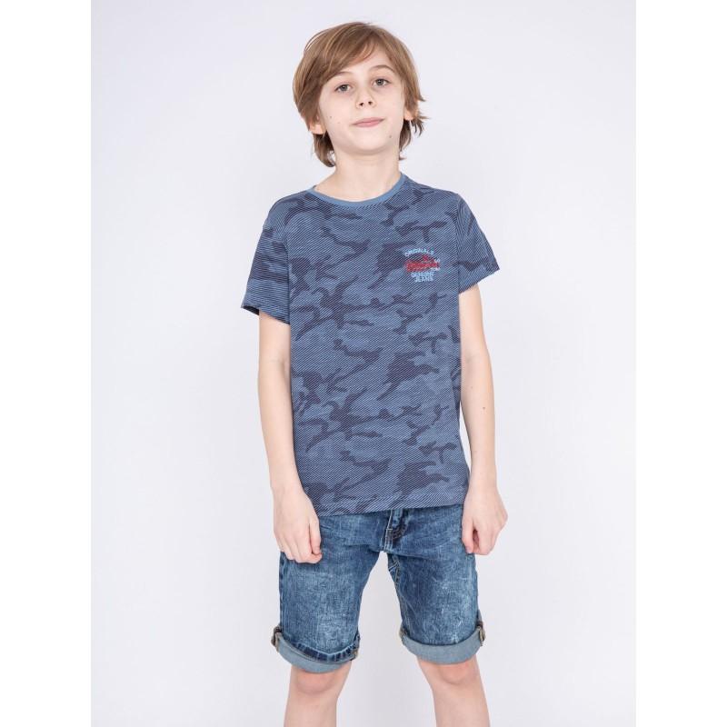 T-shirt col rond pur coton NONSTOP-J