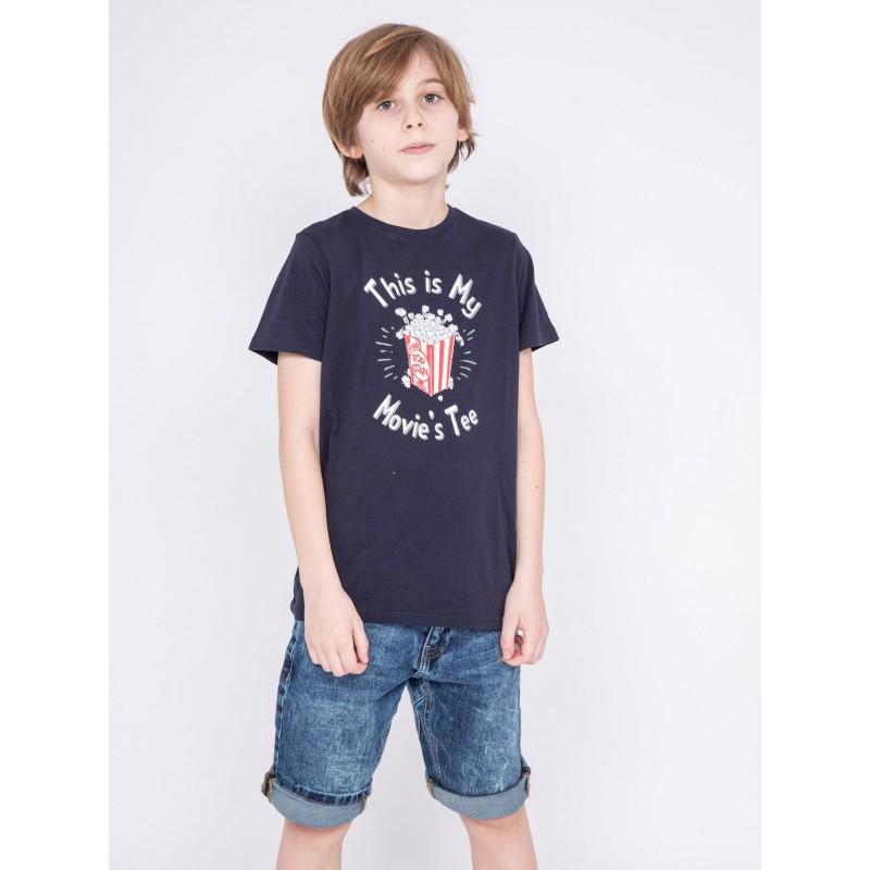 T-shirt col rond pur coton NORWIN-J