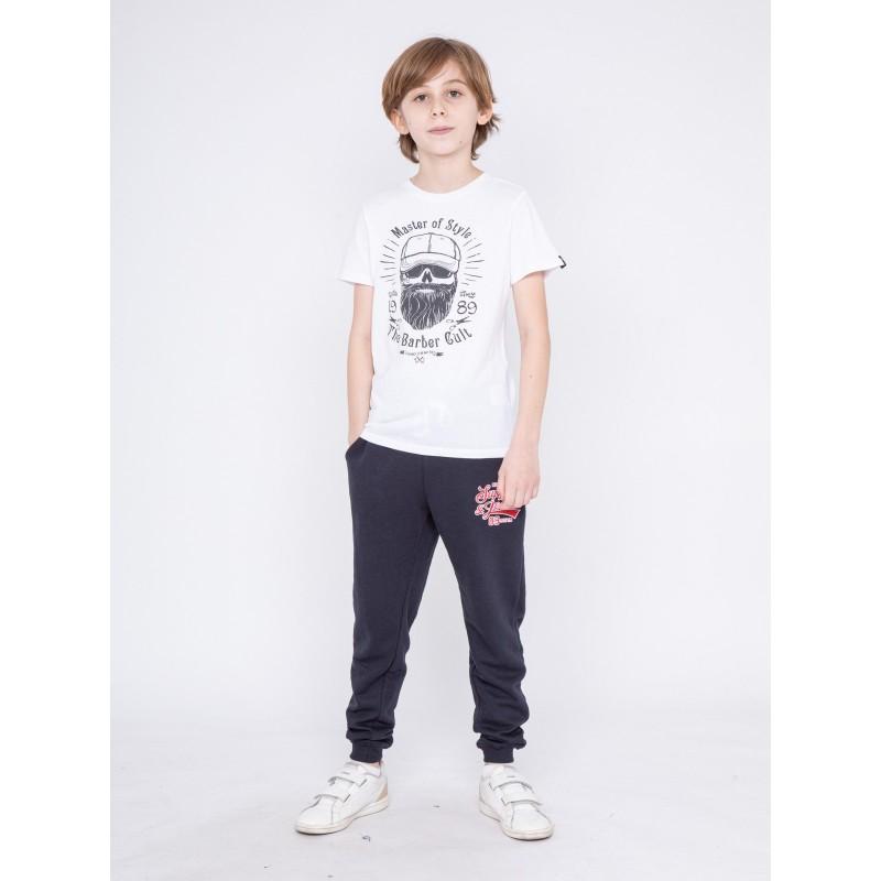 T-shirt col rond pur coton NYMPHEA-J