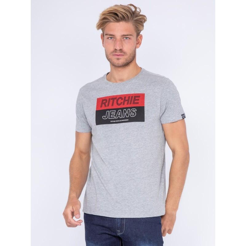 T-shirt col rond pur coton JADAMIX