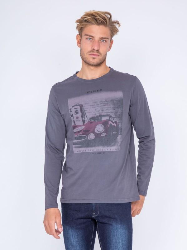 T-shirt col rond pur coton JAYA