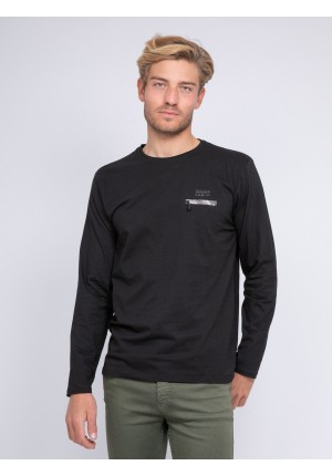 T-shirt manches longues col rond JOSTRA