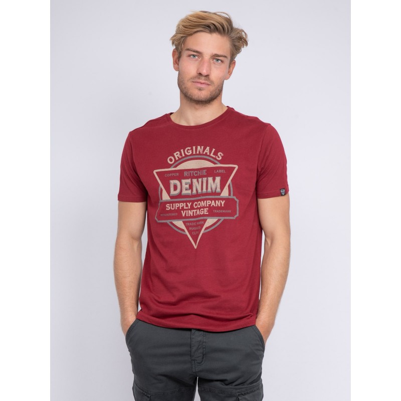T-shirt col rond JUBERTO