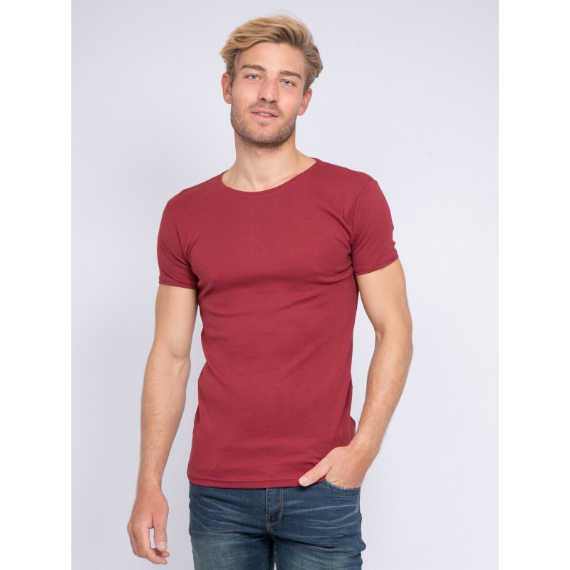 T-shirt col rond pur coton organique WARRY