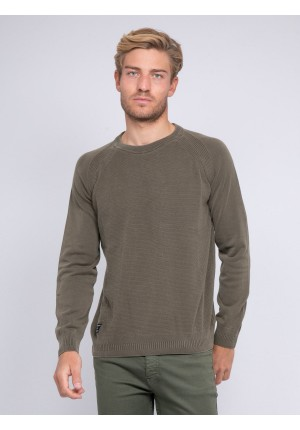 Pull fin col rond LAEROU