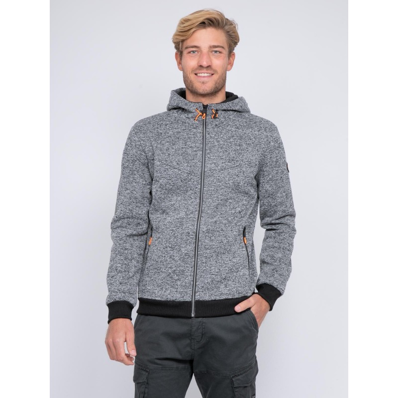 Sweat zippé capuche WALTON