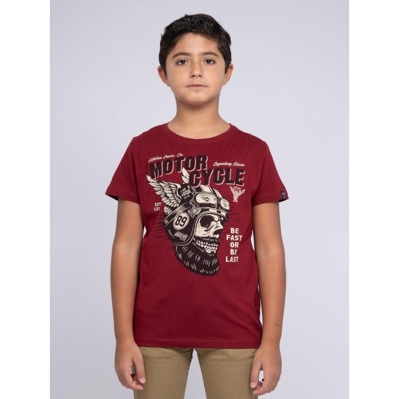 T-shirt col rond pur coton JAESTRO-J
