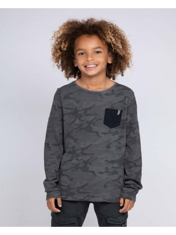 T-shirt manches longues col rond JINGO-J