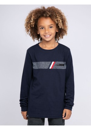 T-shirt manches longues col rond JOBY-J