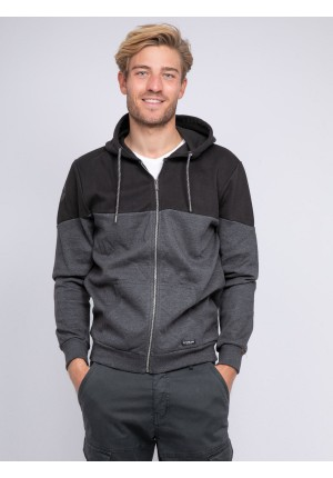 Sweat zippé capuche WICKER