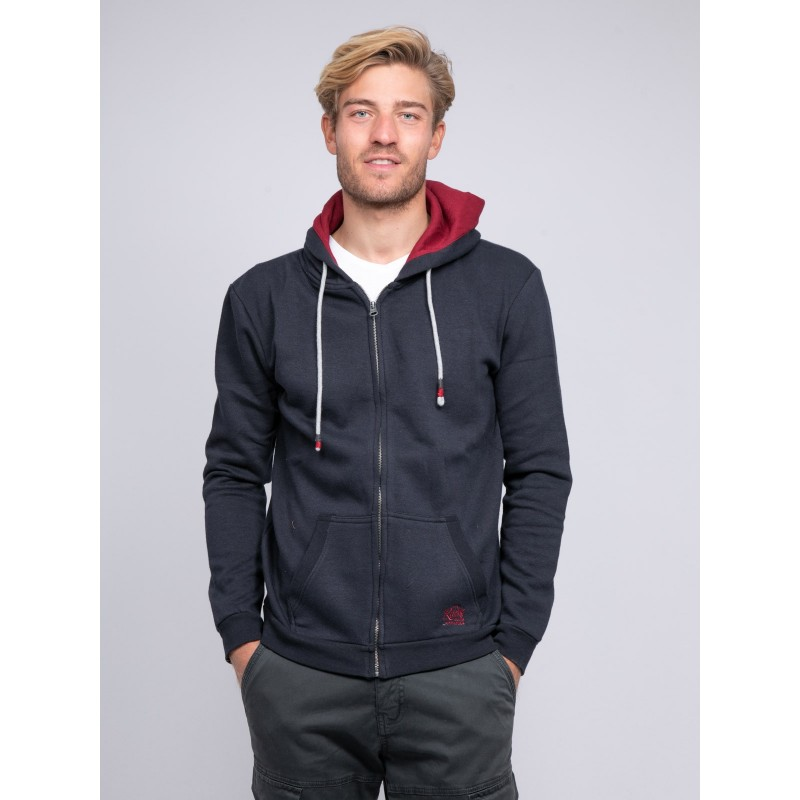 Sweat zippé capuche WAMIN