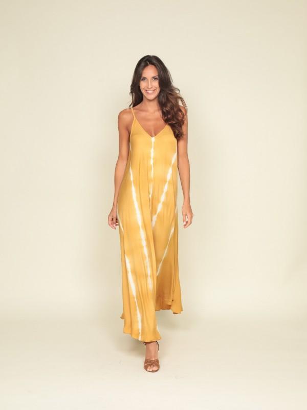 Robe longue motifs IDYE