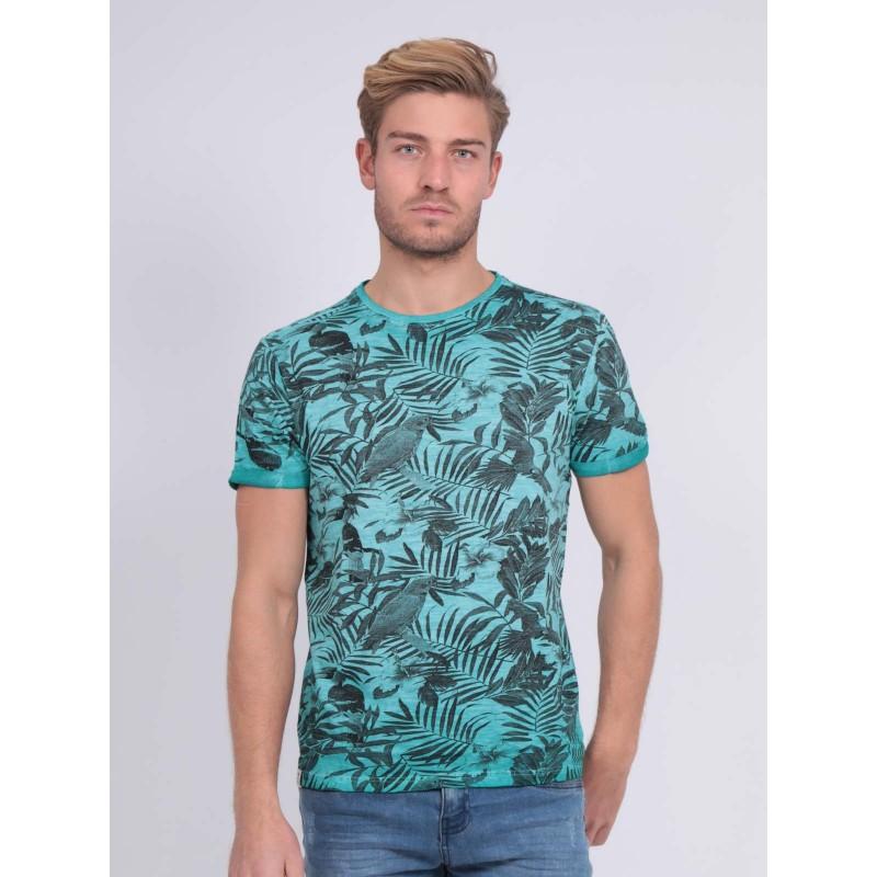 T-shirt col rond pur coton NADISON