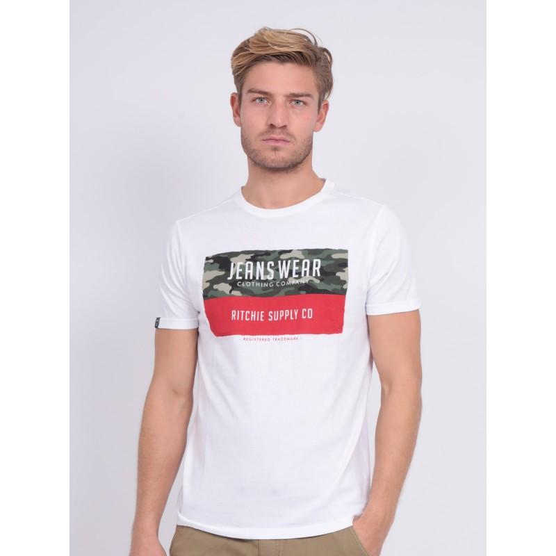 T-shirt col rond NALTINO